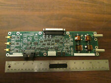RF Circuit Board With Toroid Transformers Dual BNC Output NOS