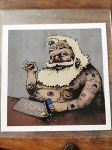 Dran Pop Up Paris Print 2016 rare (bad santa)