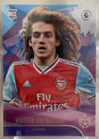2019-20 PANINI CHRONICLES MATTEO GUENDOUZI ROOKIE PITCH KINGS ARSENAL