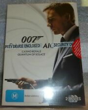 Daniel Craig 007 Casino Royale / Quantum of Solace New Sealed Free Postage