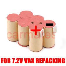 Battery For VAX Revolution VS101 Sweeper 7.2V 2.0Ah Ni-Cd Stick Vacuum Cleaner
