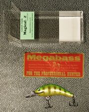 """WOW! Megabass 30th """"Into The X MAY 2017""""  Magical-Z Shallow Runner SUPER TIGER"""