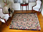 dollhouse doll house miniature FANCY WOVEN RUG CARPET RUG OF MANY COLORS #1