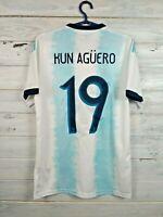 Kun Aguero Argentina Jersey 2019 Home S Shirt Adidas Football Soccer DN6716