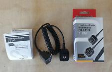 Canon Flashgun Cable 180cm PIXEL TTLFC-311/S EOS DSLR Camera