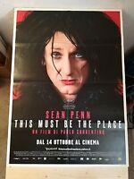 Manifesto Film THIS MUST BE THE PLACE (2011)  Poster Originale Cinema 100x140