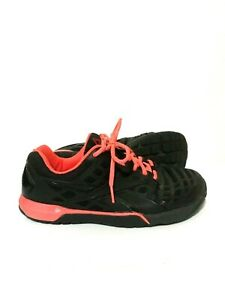 Reebok Crossfit Nano 3.0 Womens Running Shoes Sneakers Black Pink Size 8 V59942