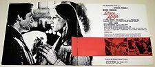 brochure film LA COSA BUFFA Gianni Morandi Ottavia Piccolo Aldo Lado Luzzati art