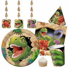 DINO EXPLOSION Gamme De Fête D'anniversaire Dinosaures Vaisselle Ballons &