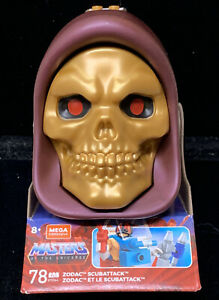 Mega Construx Masters Of The Universe Skeletor Skull #78 Zodac Scuba Attack Set