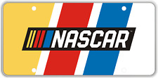Race Plates NASCAR Racing Stripe Design License Plate