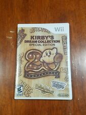 Kirby's Dream Collection - Special Edition (2012, Wii) Complete