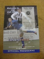 21/03/2005 Harlow League Division 2 Cup Final: Cems v Great Parndon CA Bulls [At
