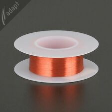 41 AWG Gauge Magnet Wire Red 2450' 155C Enameled Copper Coil Winding