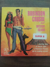 Vintage Old 8mm Movie Reel Robinson Crusoe of Mystery Island