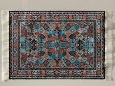 1//12 casa delle bambole in rilievo Colorati Metro Mosaico Piastrelle FOGLIO A3 carta DIY763C
