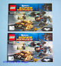 Lego Super Heroes 76001 The Bat vs. Bane Tumbler Chase - INSTRUCTIONS 1 & 2 ONLY