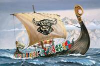 Revell 05403 Viking Ship Plastic Kit 1/50 Scale - Tracked 48 Post