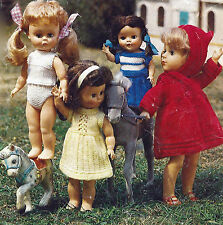 DOLLS OUTFITS 10/16 INCH DOLL KNITTTING PATTERN TINY TEARS BY EMAIL (794)
