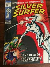 Marvel Comics - The Silver Surfer #7  Aug 1969