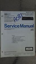 Magnavox cdb 473 cd1473 service manual original repair book stereo cd player