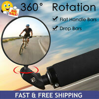 MTB Mountain Bike Rearview Mirror Bicycle Handlebar Convex Rear View Mirror Set