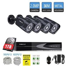 Be Safe Home Work 8CH 1080P CCTV 2.0MP POE Camera Surveillance Security Systems