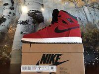 Air Jordan 1 Zoom Cmft Gym Red/White/Black CT0978-600 - Mens Size 8 - In Hand