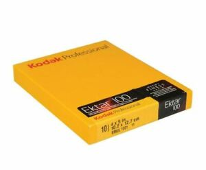 "KODAK Ektar 100 Color Negative Sheet Film ISO 100 4x5"" 10 Sheets #1587484 FRESH"