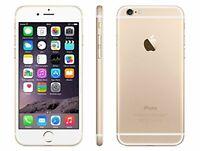 Apple iPhone 6 128GB Gold - neue Batterie - 1 Jahr Garantie - guter Zustand