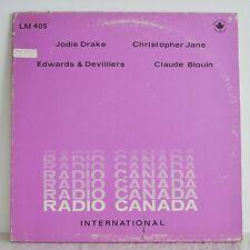 JODIE DRAKE etc RADIO CANADA LIBRARY LP 1974 Jazz/Bossa/Soul