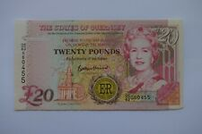 More details for states of guernsey twenty £20 pounds banknote qe60 060455 a solid gapfiller but