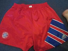 "Bayern Munich 1992-1993 Hogar Fútbol Pantalones Cortos Cintura 38""/Bi"