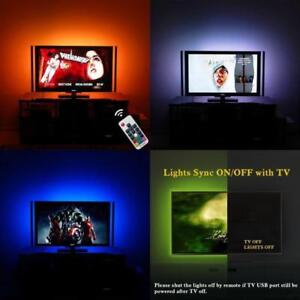 "Hdtv Usb Led Light Strip Wall Mount Behind Tv Backlight Bias Lighting For 60-70"""