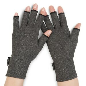 Anti Arthritis Compression Gloves Finger Support Rheumatoid Hand Pain Relief UK