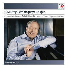 MURRAY PERAHIA - MURRAY PERAHIA PLAYS CHOPIN 6 CD NEW!