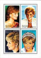 Democratic Republic of the Congo - 1998 Princess Diana - Sheet of 4 - MNH