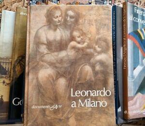 LEONARDO A MILANO Bologna 1^ ed 1982 DOCUMENTI D'ARTE DE AGOSTINI