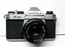 Pentax K1000, 35mm SLR Camera  w/ Pentax-M 1:2 50mm Lens