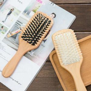 Cushion Hair Loss Massage Brush Hairbrush Comb Scalp Paddle Healthy 1X*~ Du C1A5