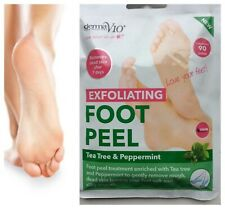 Derma V10 Exfoliating Foot Peel Sock  Baby Soft Feet Removes Dead Skin