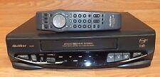 Quasar (Vhq860) Dual Azimuth 4-Head HiFi Stereo Vhs / Vcr Recorder w/ Oem Remote