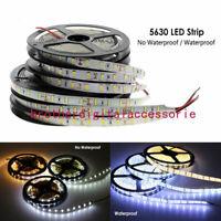 DC12V 1M-5M 5630 waterproof 300 LED Light Strip Flexible Ribbon 5M Tape lamp