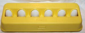 Vintage 1980's Playskool Plastic Counting Eggs Complete Dozen 1-12 with Carton