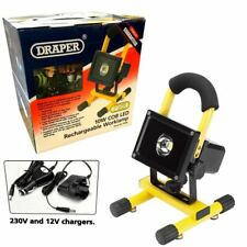 Draper 10 W COB DEL Rechargeable Worklamp Light with Stand 600 lm