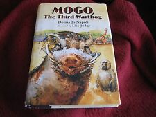 Mogo, the Third Warthog by Donna Jo Napoli (2008 Hardcover) SIGND BY ILLUSTRATOR