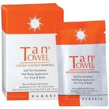 Tantowel Half Body Application for Fair to Medium Skin Tones 10 Towels