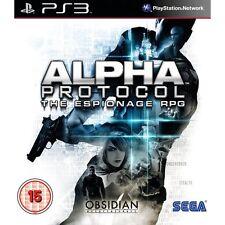 Alpha Protocol The Espionage RPG PS3 ✰✰✰NEUWARE✰✰✰