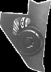 Pioneer Upgrade Kickpanel Speakers for 1955-1956 Bel Air, One-Fifty, Two-Ten