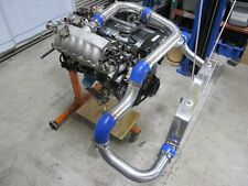 For Nissan S13 S14 240SX RB20 RB25 RB25DET Front Mount Intercooler Kit w/BOV